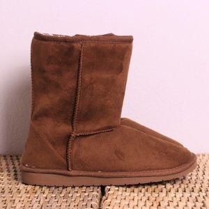 "NEW Dawgs Sheepdawgs 9"" Classic Boot Chestnut 8"